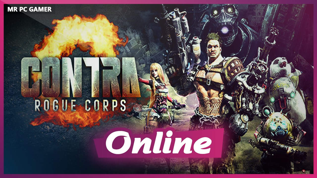 Download CONTRA ROGUE CORPS V1.3.0 + ONLINE