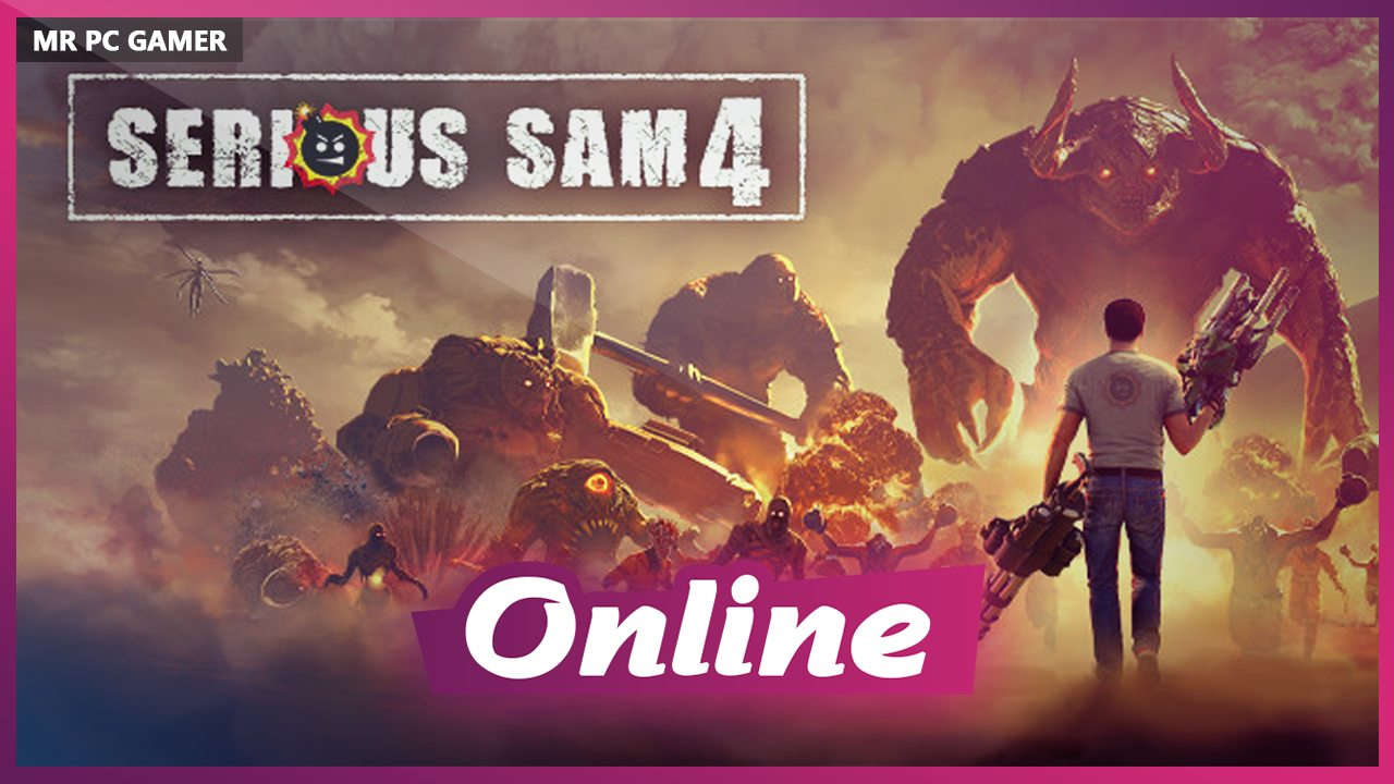 Download Serious Sam 4: Deluxe Edition [v 1.03 + DLC] Repack by xatab + ONLINE