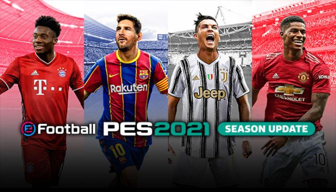 Download eFootball PES 2021 Season Update (v1.01.00 Data Pack 1.00, MULTi15) [FitGirl Repack] + CRACK ONLY