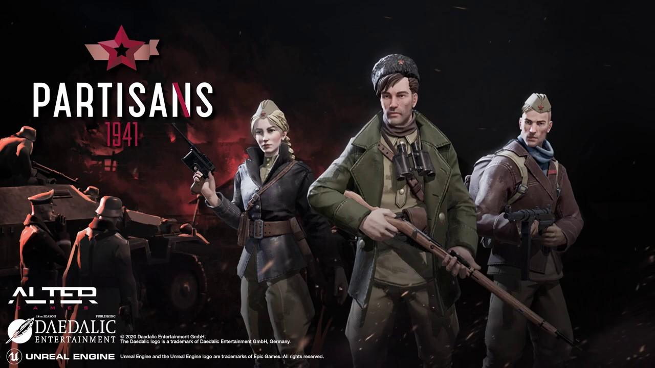 Download Partisans 1941 [v 1.0-GM-31062] Repack by xatab
