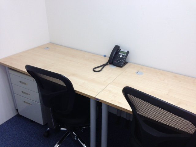two office table