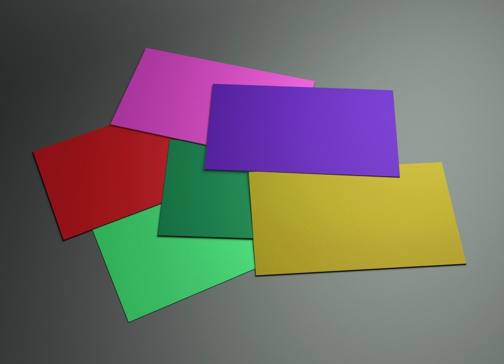 The 3d scene could be fit with any name card design, is the best for promotion of company brand image.