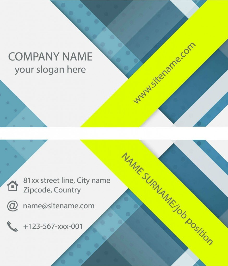 Name Card Eco Friendly Printing