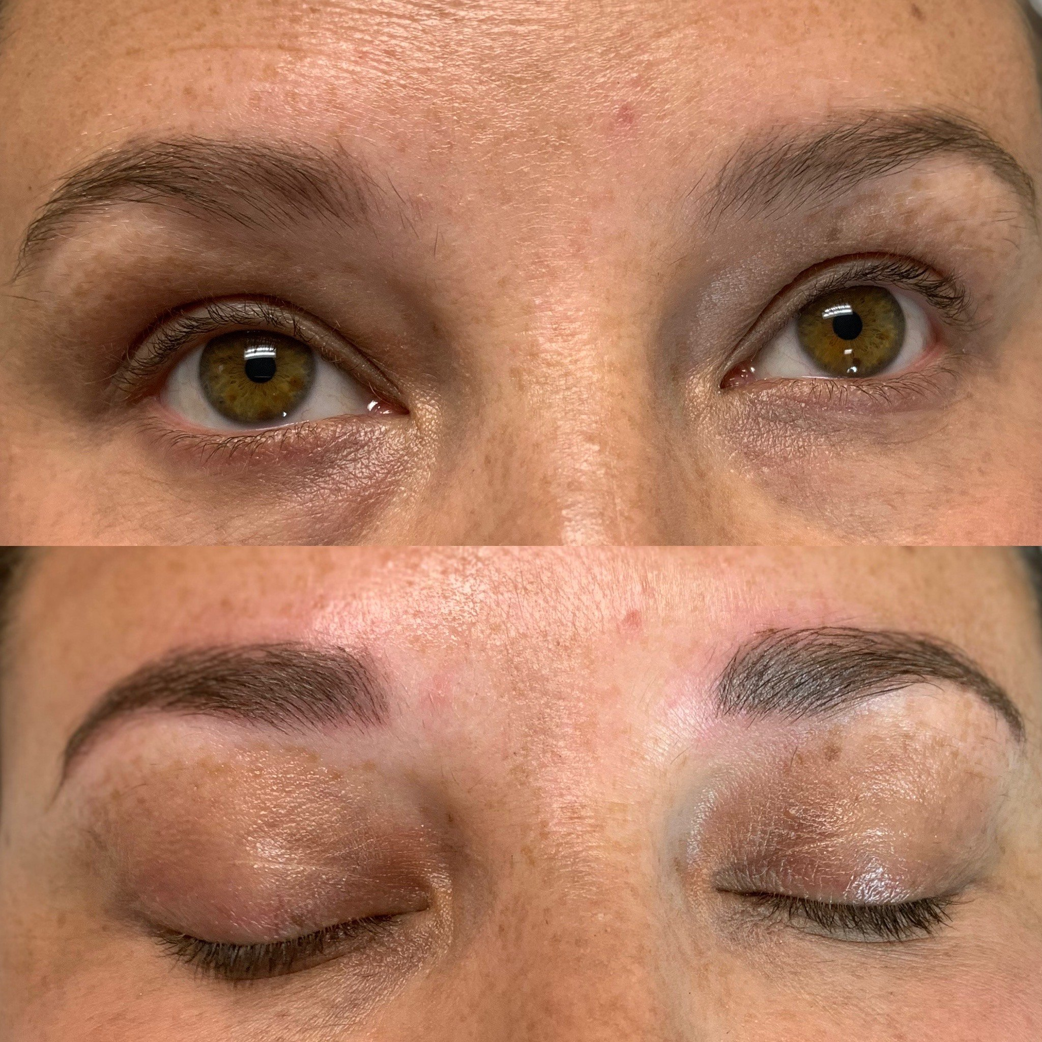 Microblading in Sugar land Texas, Microblading before and after