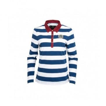 Loweswater Ladies Striped Rugby Shirt