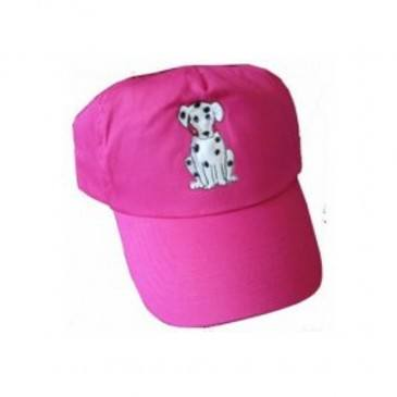 Dog Child Baseball Cap Fuchsia