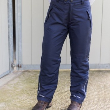 Just Chaps Adult Waterproof Riding Trousers Navy